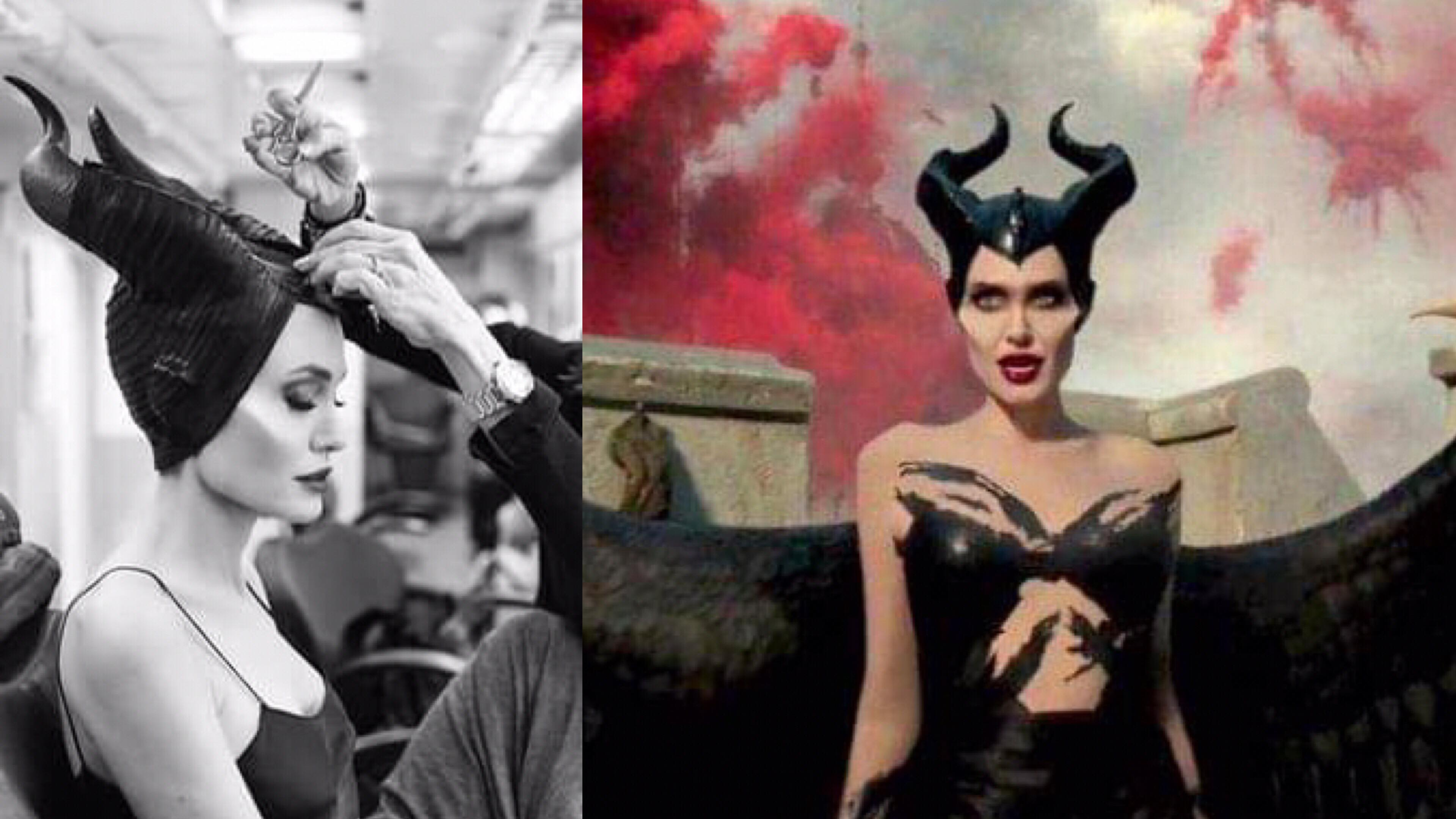 「裘莉的《黑魔女2》上妝有多費工?」幕後上妝影片大公開,竟然需要 44 名化妝師! – 我們用電影寫日記
