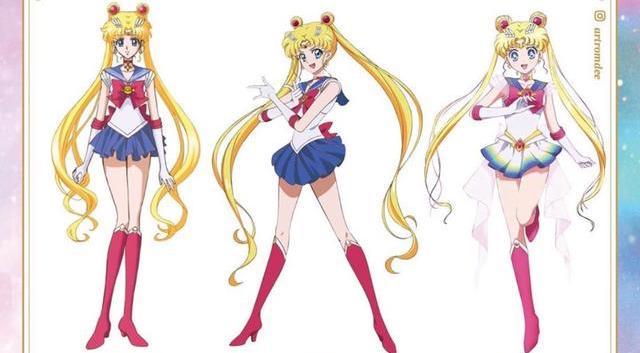 《美少女戰士》6 年來改了 3 大版本,對比差別是裙子越來越短? – 動漫的故事