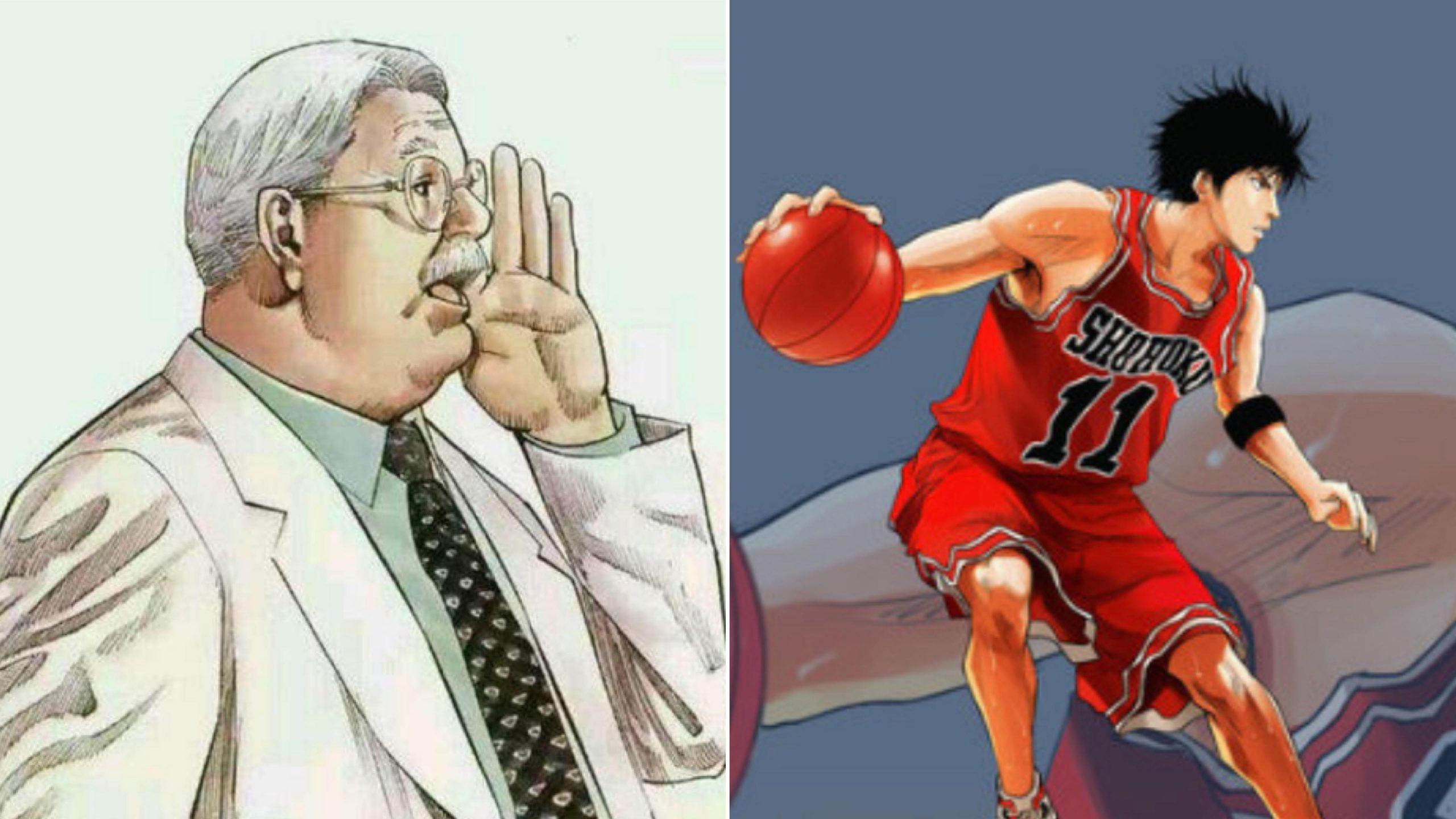 很少人知道,安西教練有一個「比流川楓還帥的兒子」,還是個籃球天才…—《灌籃高手》—動漫的故事