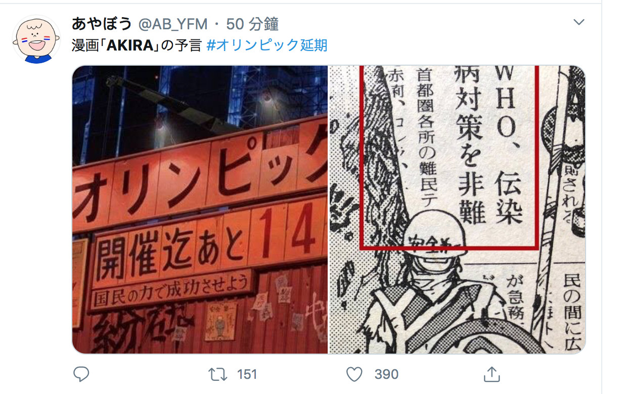 兩次神預言? 32 年前這一部日本動畫,預言了東京奧運延期! – 動漫的故事