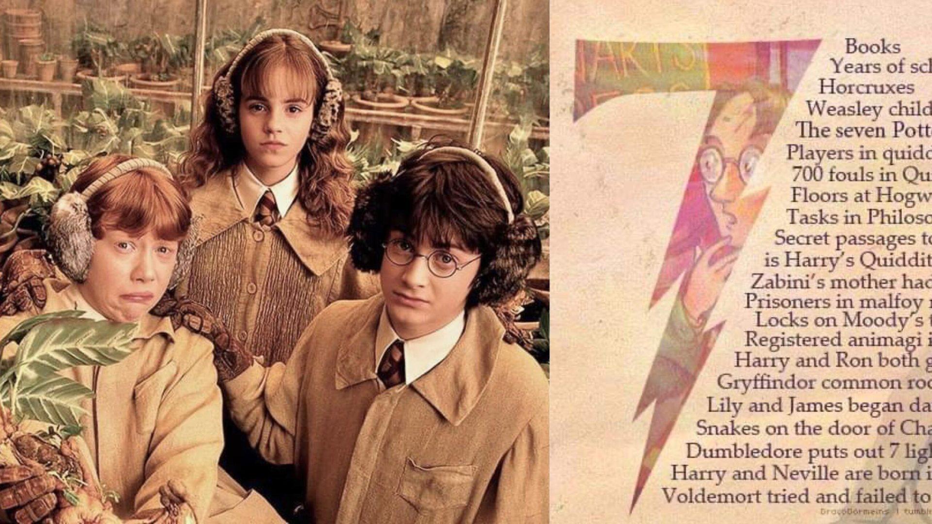 《哈利波特》的秘密電影細節,「數字 7 」才是貫穿整個電影的重要魔法數字,很多人卻沒發現! – 我們用電影寫日記